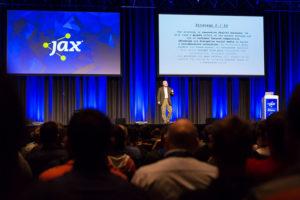 Bild der JAX Bühne