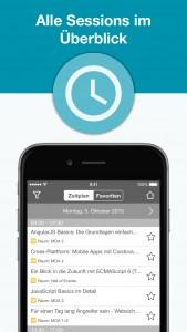 JAX Mobile App - Sessions