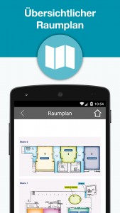JAX Mobile App - Raumplan