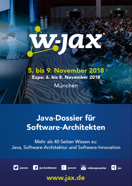 Das Dossier für Java, Software-Architektur und Software-Innovation.