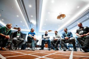 Photo von Arne Limburg und Power-Workshop-Teilnehmer